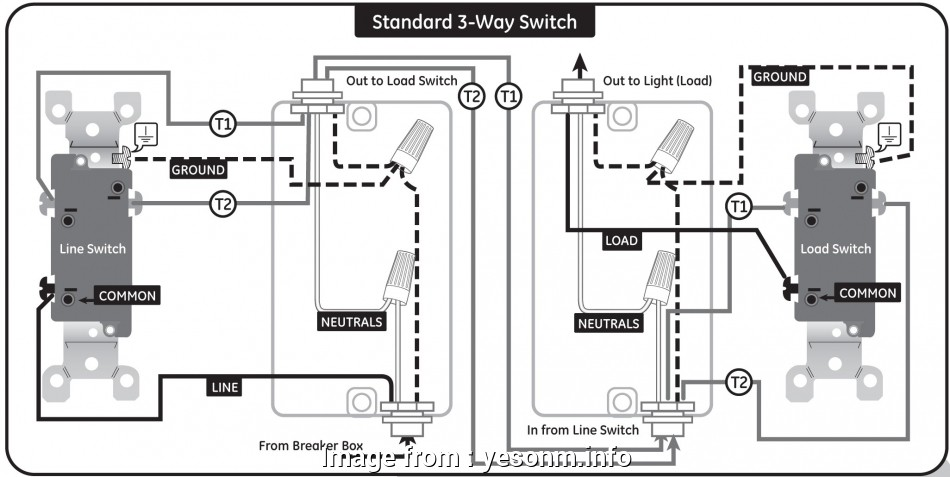 ge smart switch 3 way wiring diagram