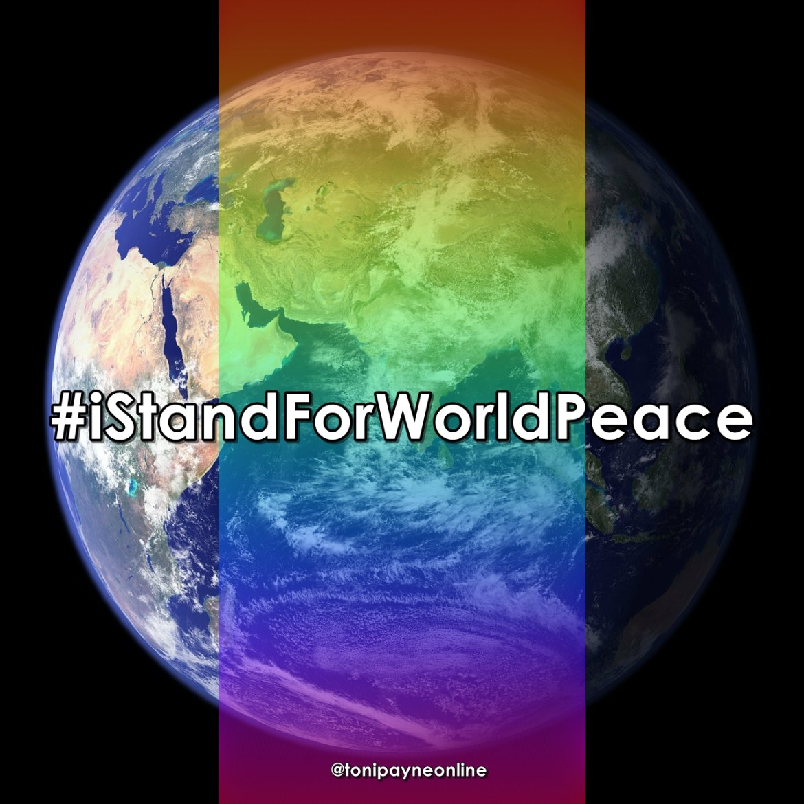 i stand for world peace