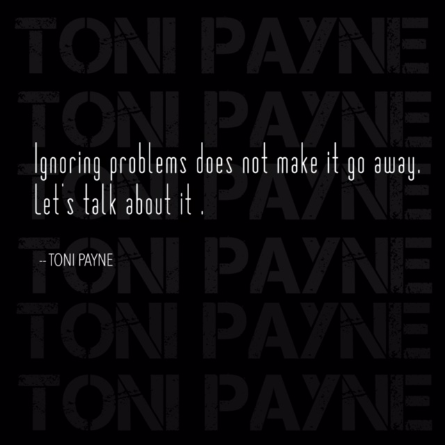 quote about talking about problems