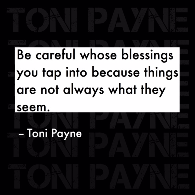 Quote about Tapping into Other Peoples Blessings