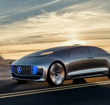 Mercedes Benz F 015 Concept Car - Video and Pictures