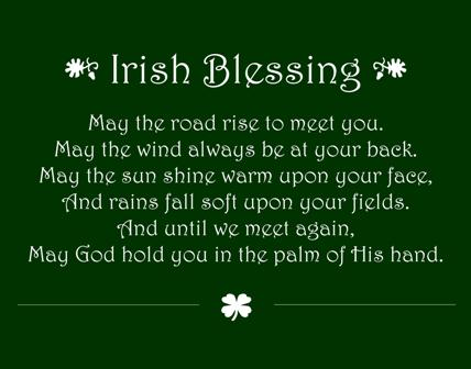 Bob Dylan Quotes Wallpapers An Irish Blessing The Tony Burgess Blog