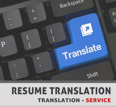 Resume Translation - Trendy Resumes - resume translation