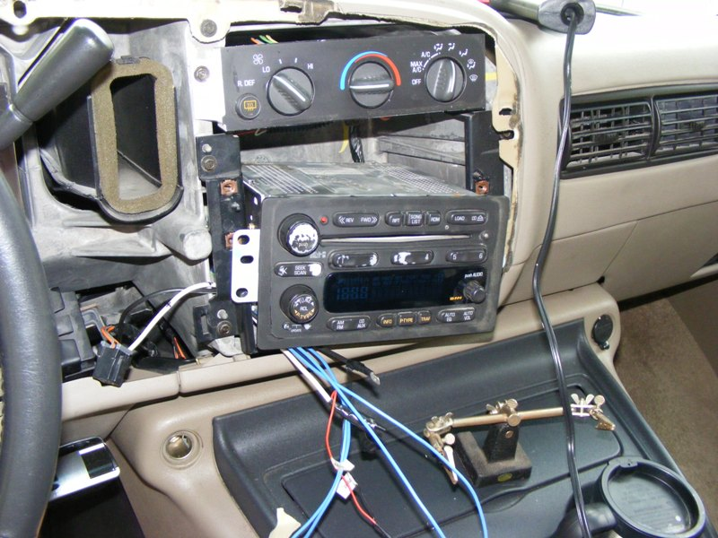 2002 avalanche radio wire harness