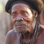 Himba village chief