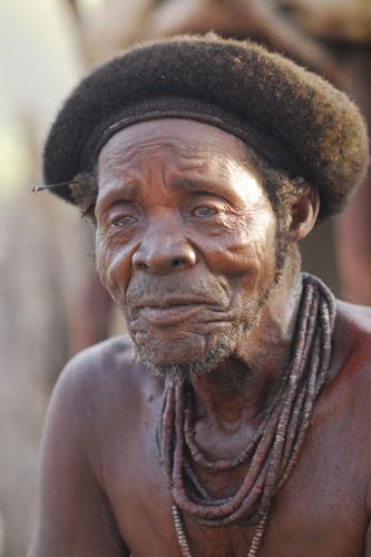 Himba village chief