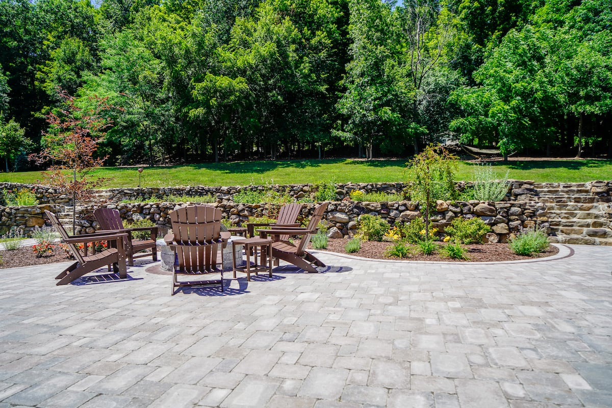 Landscaping Company Paver Patio Landscaping Company Landscaping Design And Construction