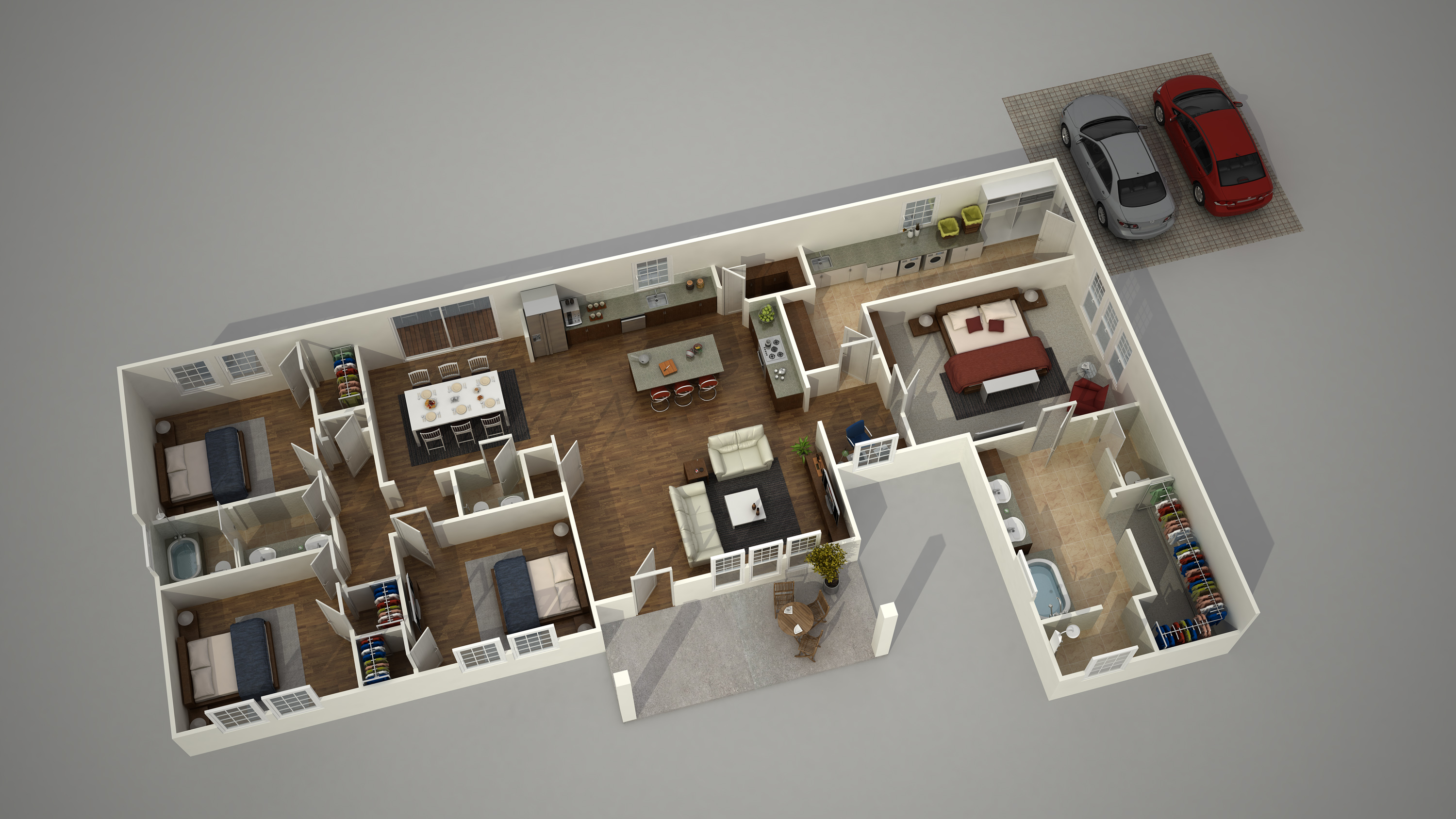 Plan Architecte 3d How To Create A 3d Architecture Floor Plan Rendering