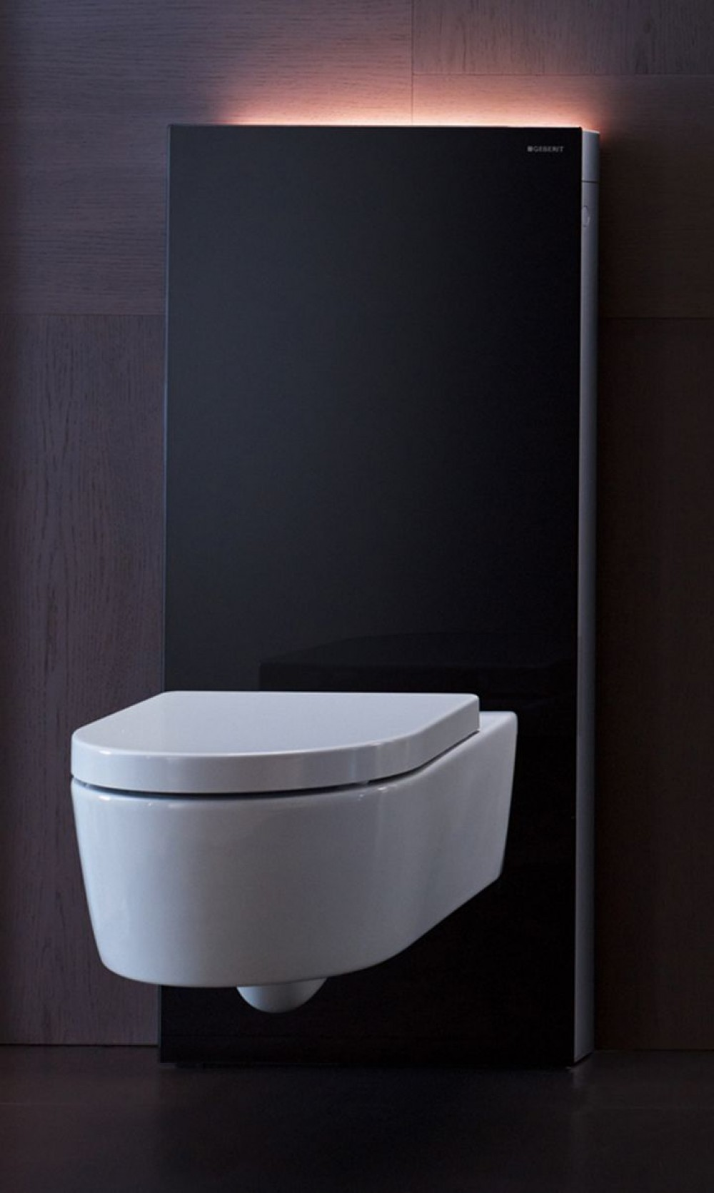 Geberit Wc Geberit Monolith Plus Sanitary Module For Wall Mounted Toilet H 101 Cm Black 131222sj1