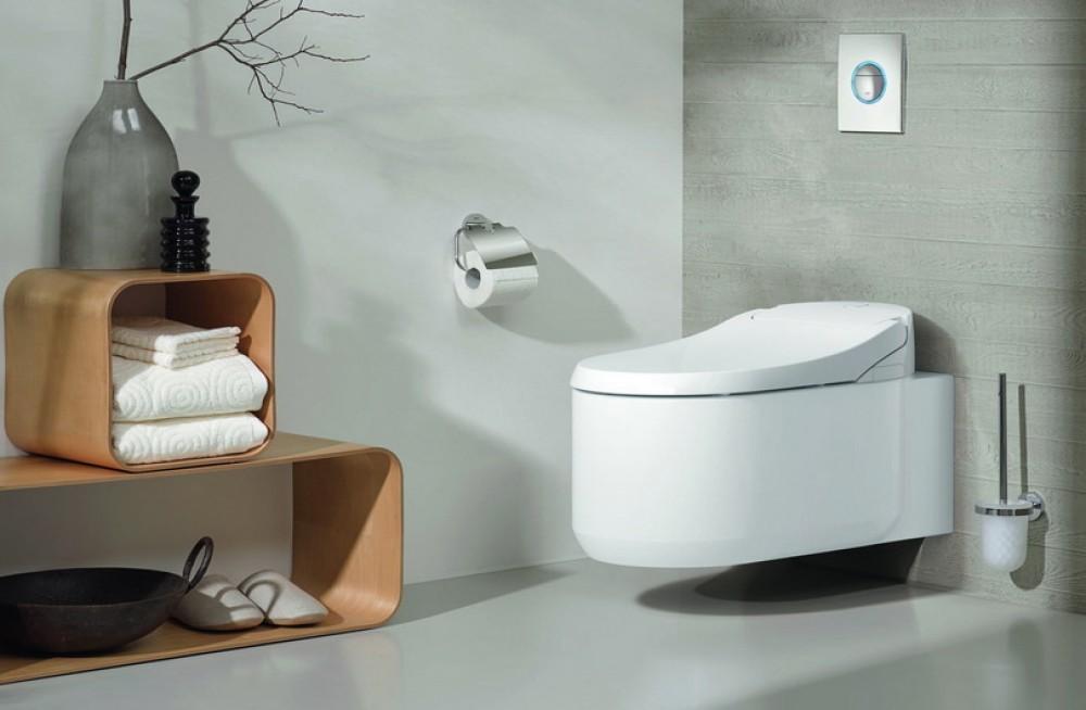 Grohe Sensia Arena Toilet With Bidet Function Tooaleta