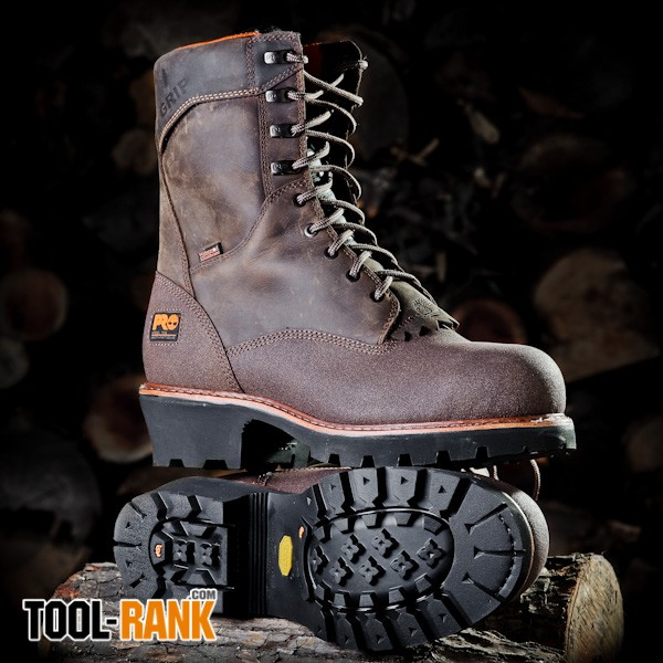 Cable Deals Timberland Pro Rip Saw Logger Boots Review - Tool-rank.com