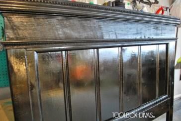 DIY Upcycled Headboard