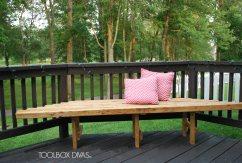 $20 DIY Corner Bench