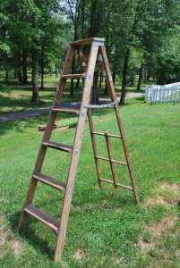 Unpainted Herb ladder