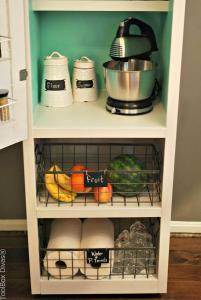 Pantry Lower shelves