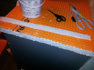 10 How to Tile Countertop- Toolbox Divas
