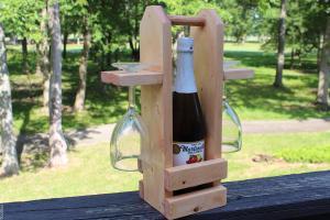 DIY Wine Caddy - ToolBox Divas