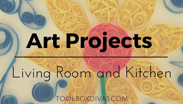 8 DIY Art Projects for Your Living Room and Kitchen