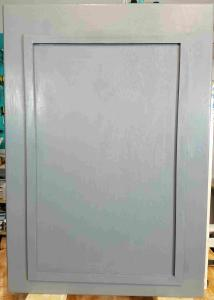 Door with trim added - Toolbox Divas