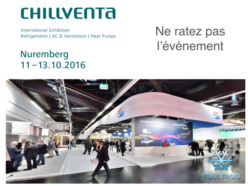 Salon Nuremberg Salon Chillventa 2016 Tool Froid Distribution