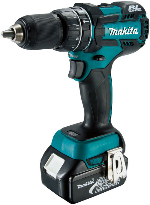 Compact Drive Happy New Makita Xph06 18v Brushless Hammer Drill