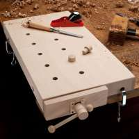 Take Your Woodworking Anywhere with this Portable Table ...