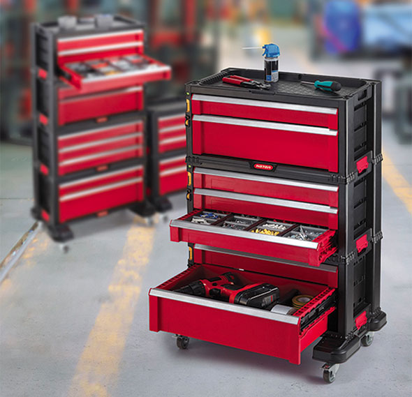 New Craftsman Stacking Tool Chest Storage System