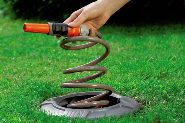 Hide Your Garden Hose Neatly In The Ground