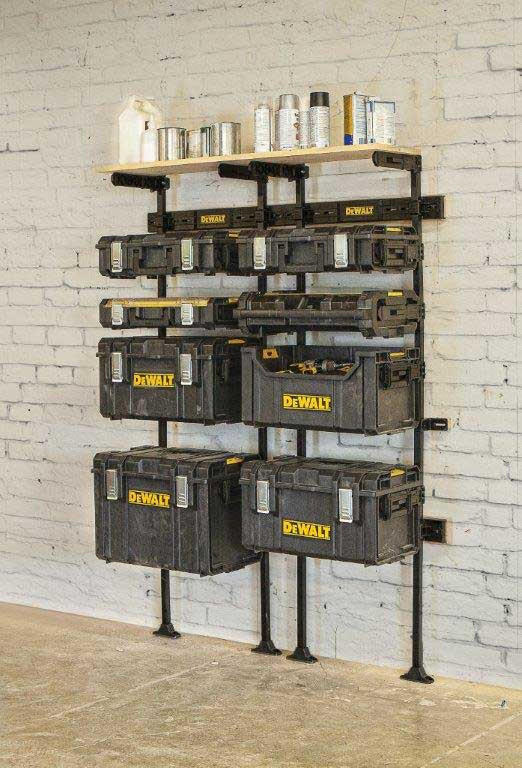 Plafond Pluggen Dewalt Dwst1-75694 Toughsystem Workshop Racking