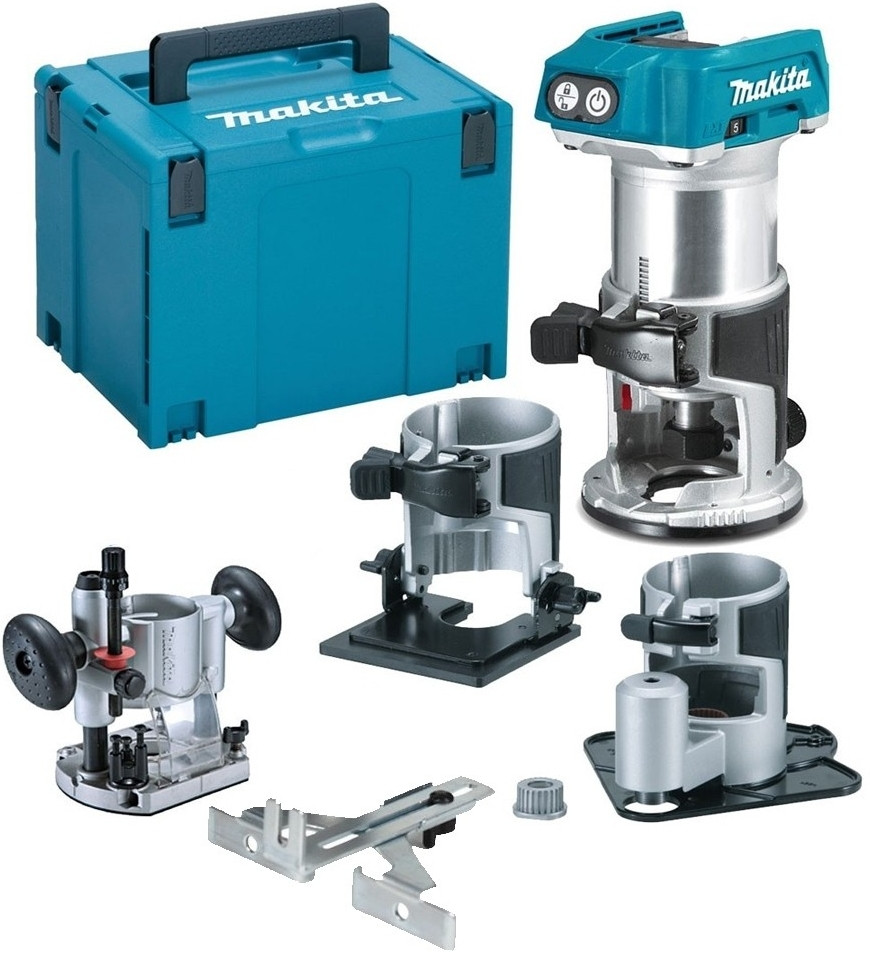 Makita Freesmachine Makita Drt50zjx3 Accu Freesmachine 18v Li Ion Zonder Accu S En Lader In M Box