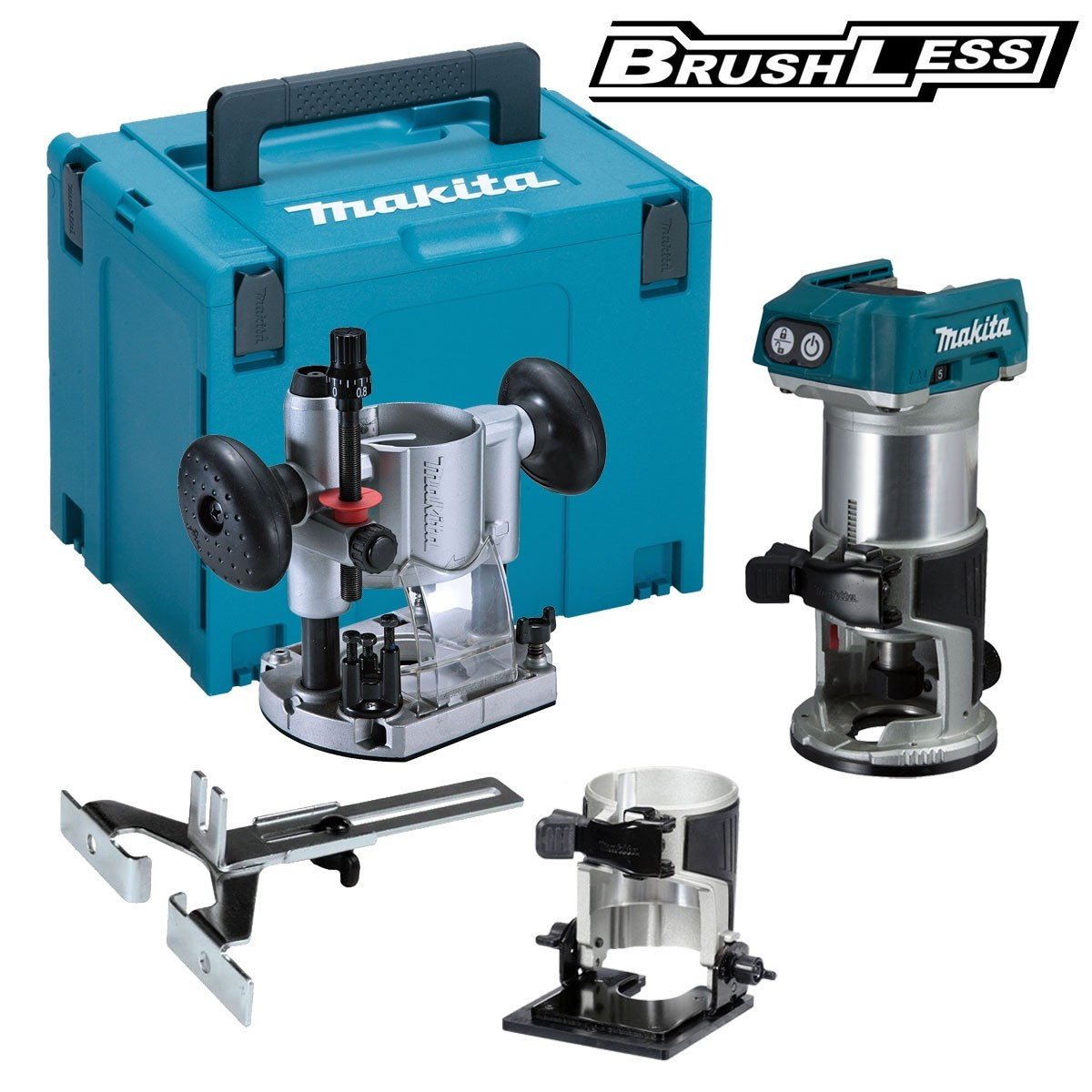 Makita Freesmachine Makita Drt50zjx2 Accu Freesmachine 18v Li Ion Zonder Accu S En Lader Toolmax