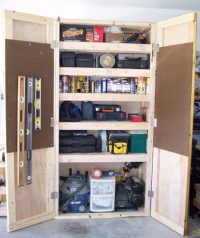 Projects: Shop Storage Cabinet   Toolmonger
