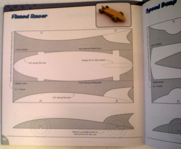 A Good Read Getting Started in Pinewood Derby Toolmonger - pinewood derby template