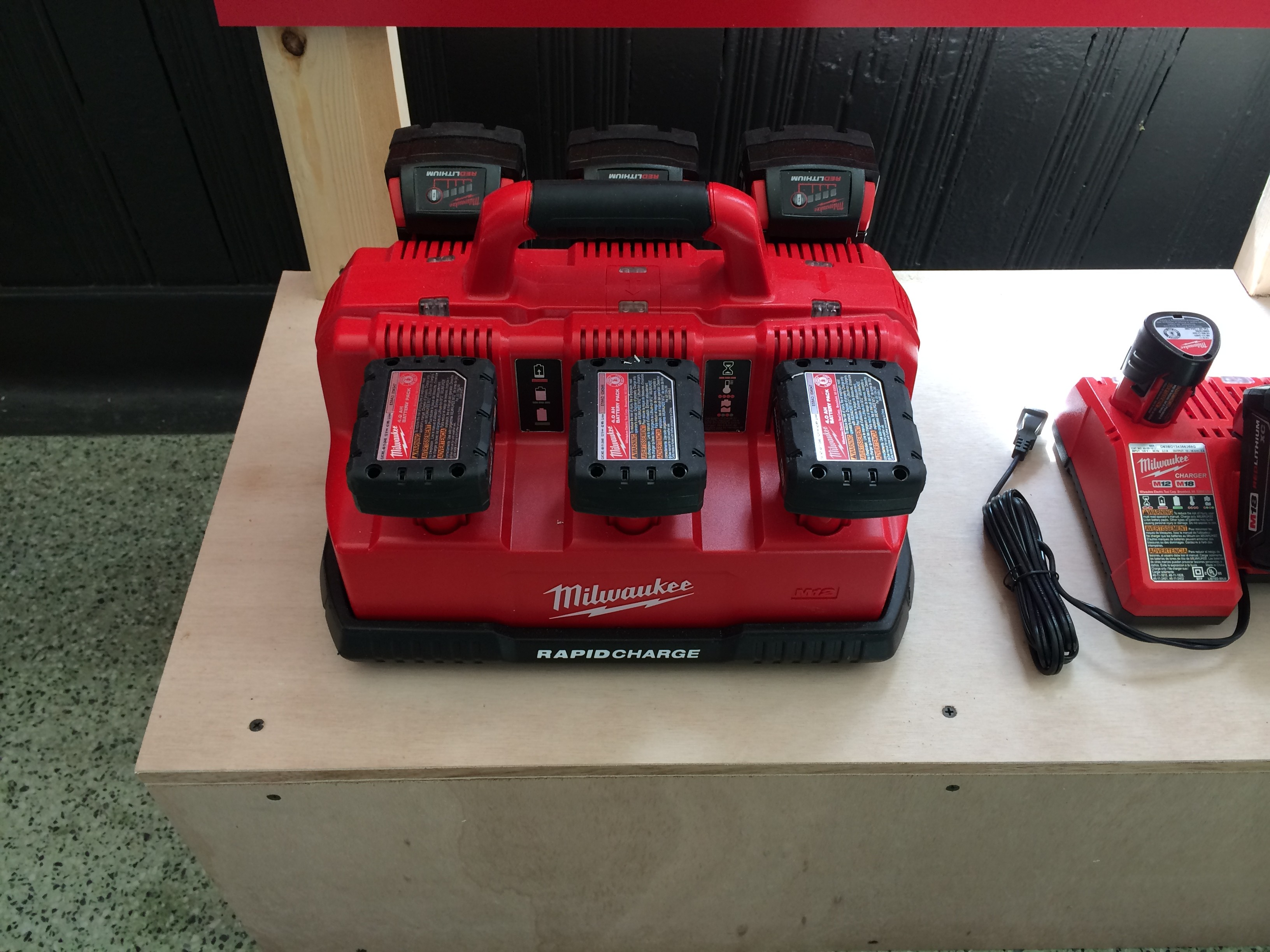 Milwaukee M18 Battery Milwaukee 5 Ah M18 Battery And New Rapidcharge Are Coming