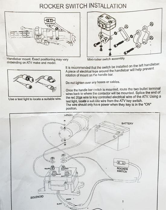 Badland Winch Switch Wiring Diagram Free Download Schematic Diagram