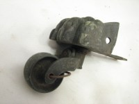 Set 4 Antique Brass Lion's Foot Table Leg Caster Roller ...