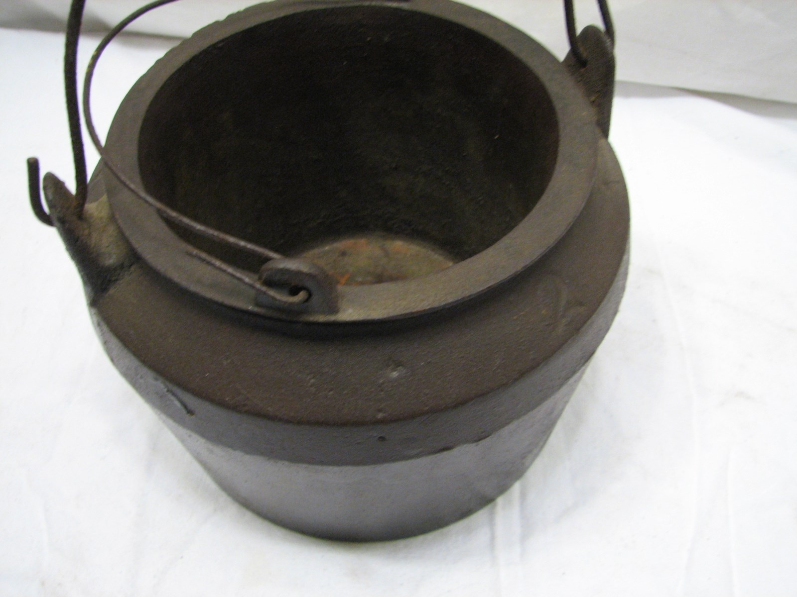 Cast Iron Pot Antique Marietta Cast Iron Gypsy Glue Pot Double Boiler