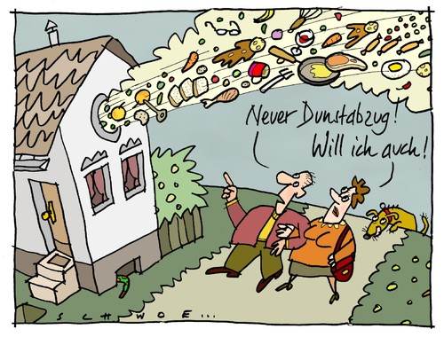 Hygieneregeln In Der Küche Schule Dunstabzug By Schwoe | Media & Culture Cartoon | Toonpool