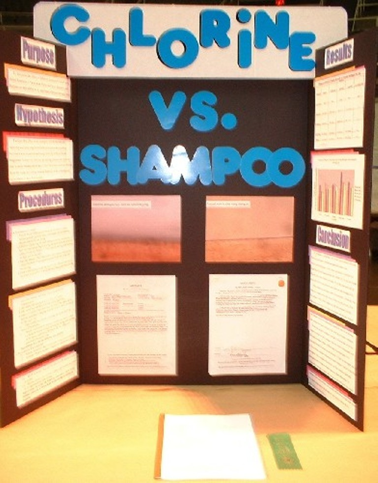 How to do a science fair project