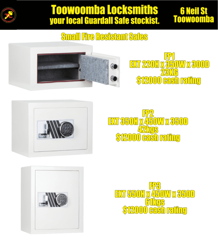 guardall fire resistant safes