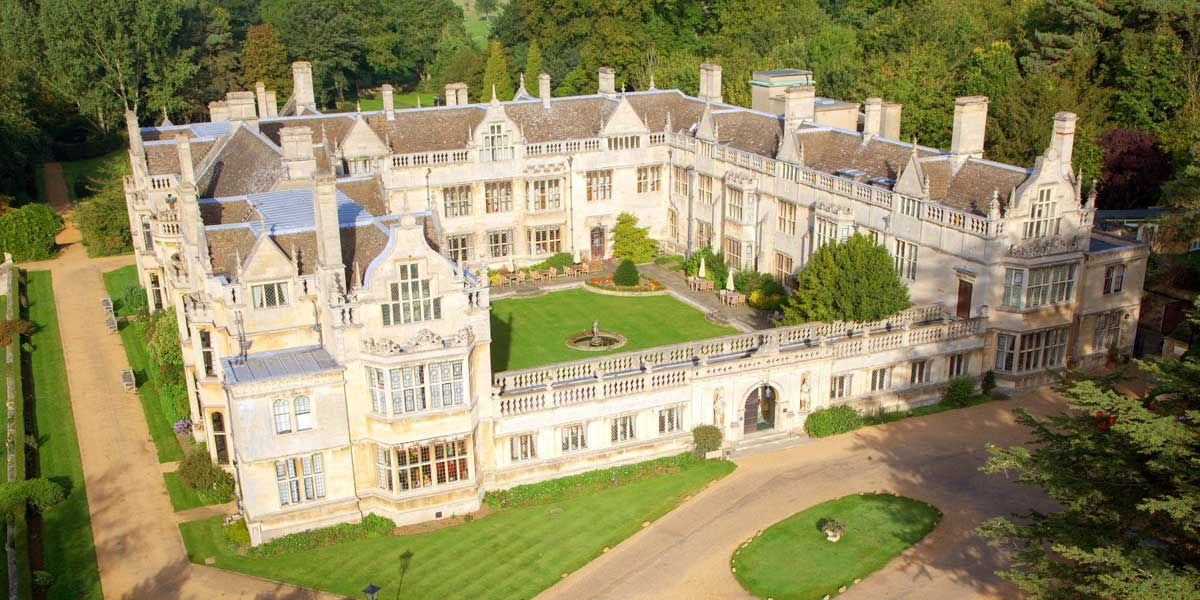 Best Country House Venue Outside London, Rushton Hall Hotel And Spa, Prestigious Venues