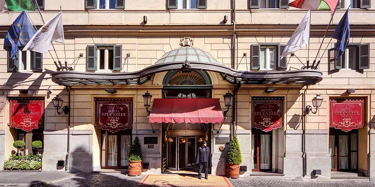 Best Hotel in Rome For Events, Hotel Splendide Royal Rome, Prestigious Venues