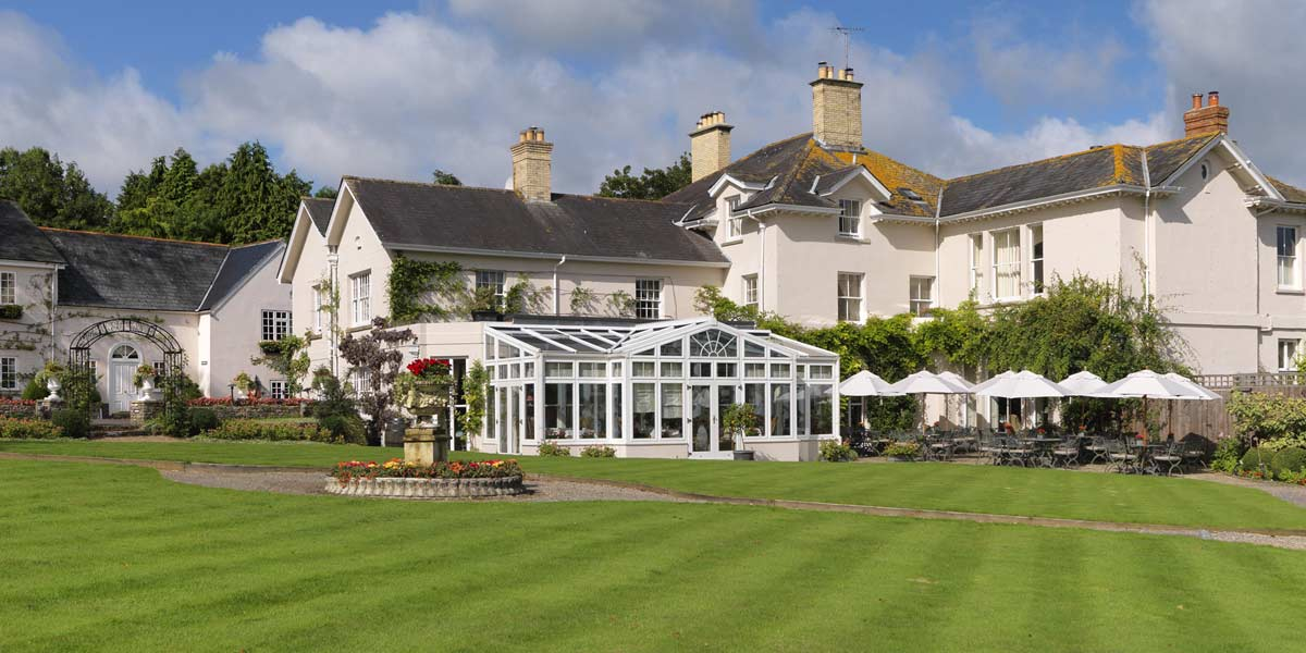 Boutique Countryside Hotel, Summer Lodge Dorset, Prestigious Venues