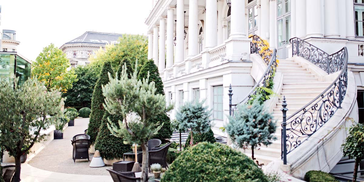 Outdoor Event Space In Vienna, Palais Coburg Hotel Residenz, Prestigious Venues