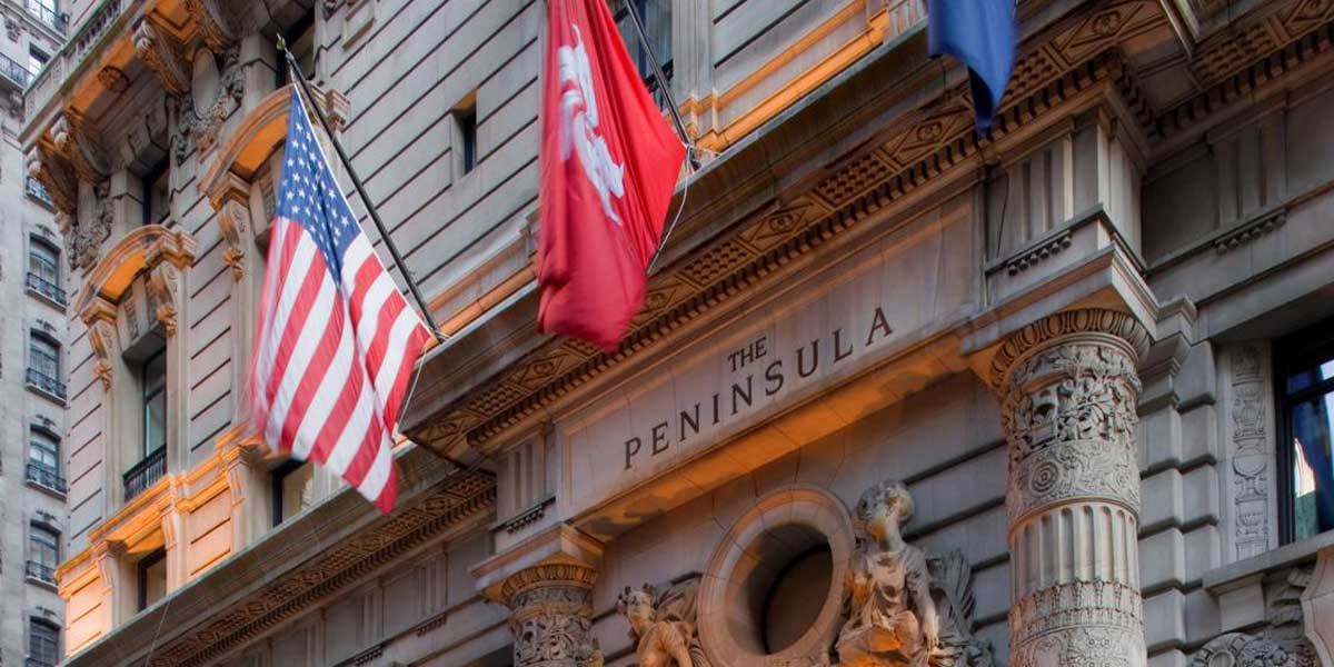 Top Hotels In New York, The Peninsula New York, Prestigious Venues