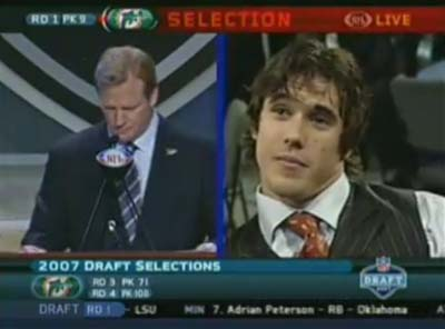 Brady Quinn Exemption (Drafted Too Low)