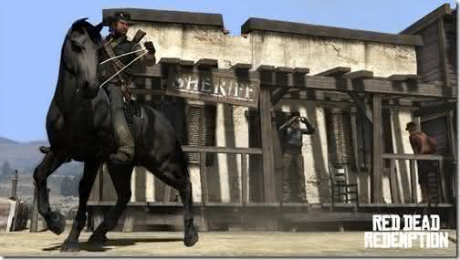 Red Dead Redemption eh um dos mais baixados jogos para xbox