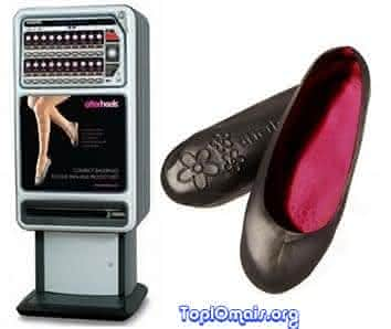 maquina de vender sapados