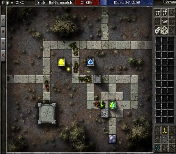 GemCraft Labyrinth em segundo entre os melhores