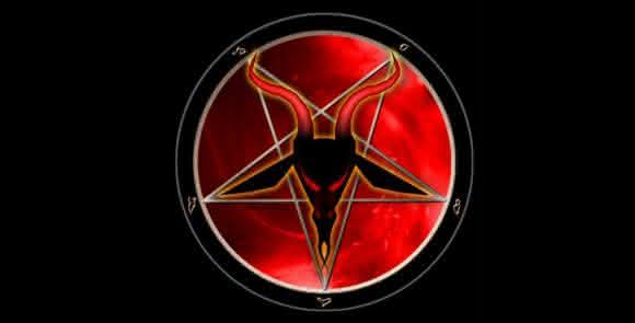 pentagram estrela de cinco ponta satanica